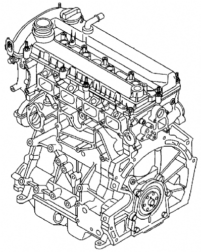 Mazda MX5 NC New Replacement 2.0 Engine  2006-2008